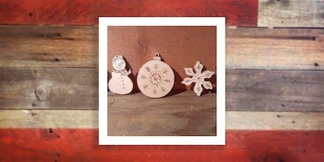 DIY Woodsy Ornaments tickets