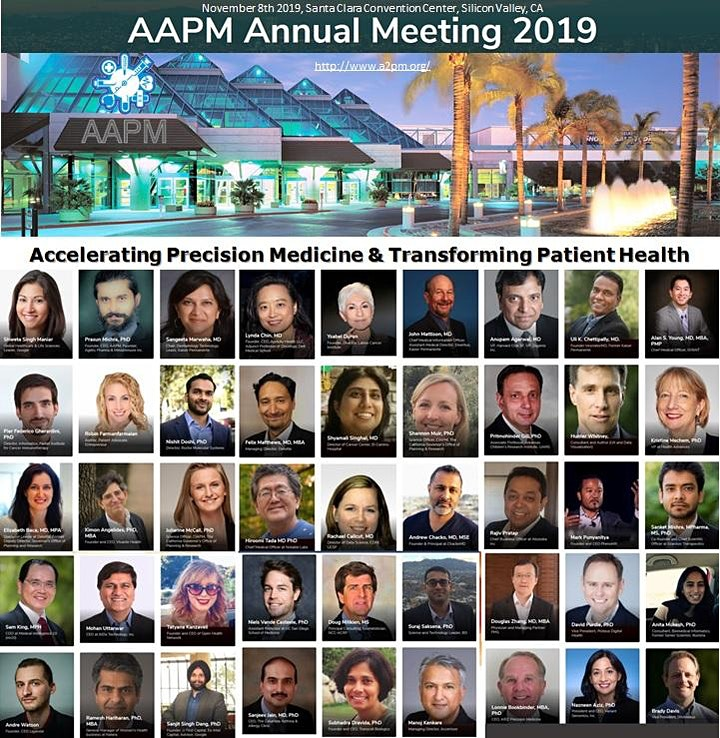 American Association for Precision Medicine Annual Meeting 2019 image