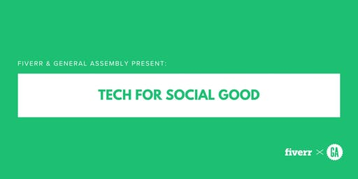 Fiverr & General Assembly Present: Tech For Social Good
