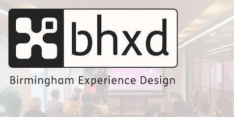 Birmingham Experience Design meetup #2 - Nov 2019 tickets