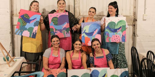 Wasted Paint - Paint & Sip Friday Evening November
