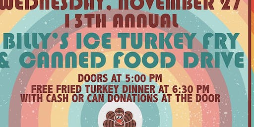 Billy's Ice 13th Annual Turkey Fry