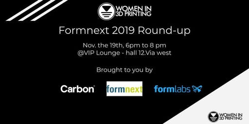 Women in 3D Printing Formnext 2019 Round-up