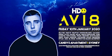 HDO presents AVI8 tickets