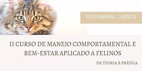 II Curso de Manejo Comportamental e Bem-Estar aplicado a Felinos ingressos