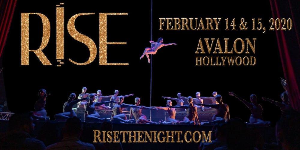 La Events February 2020.Rise The Night By Pole Show La Saturday February 15th 2020
