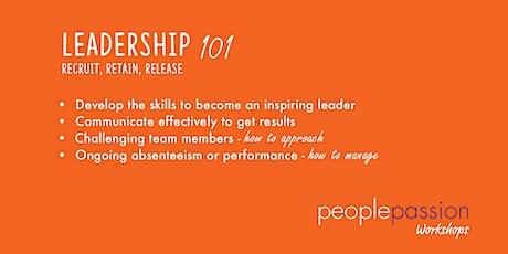 Leadership 101 Workshop tickets