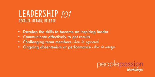 Leadership 101 Workshop