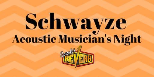 Schwayze Musician's Night