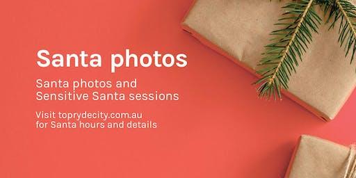 Sensitive Santa Photo Sessions at Top Ryde City