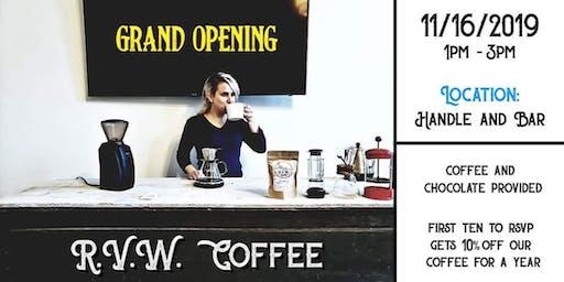 RVW Coffee | Grand Opening