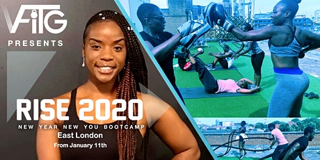 Rise 2020  - New Year New You Bootcamps with VFitG tickets