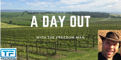 A day out with The Freedom Man