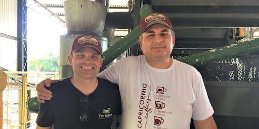 Luiz Rodriguez;  all things Capricornio & Making Coffee Farming Sustainable
