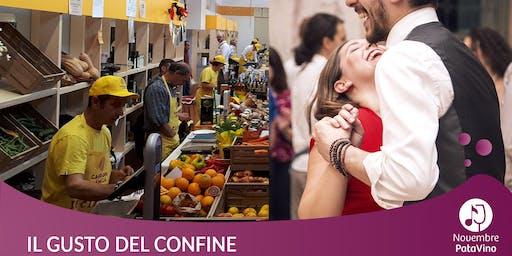 Il gusto del confine: degustazioni Km0, tango argentino, swing e lindy hop