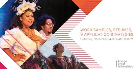 Kresge Artist Fellowship Info Session tickets