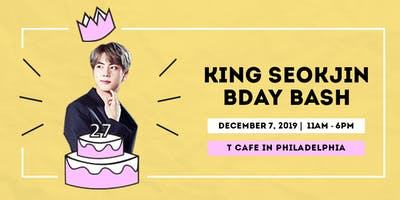 KING SEOKJIN BDAY BASH