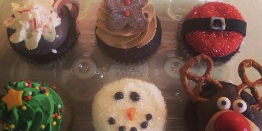 Holiday Cupcake Making Workshop at The Asbury Park Bazaar