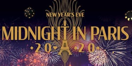 2020 New Year's Eve - Midnight in Paris tickets