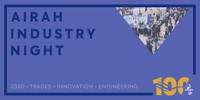 AIRAH Industry Night – Ballarat [VIC]