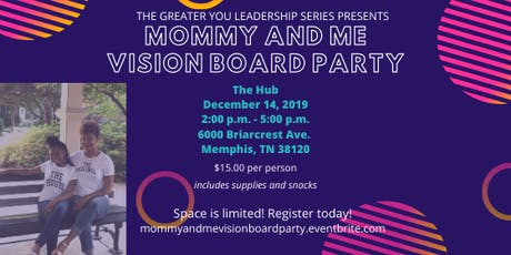 Mommy and Me Vision Board Party tickets