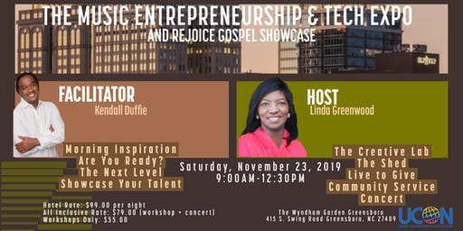 Music Entrepreneurship and Tech Expo and Rejoice Gospel Showcase