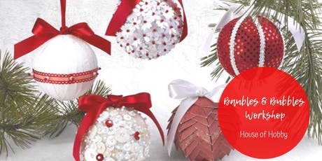 Christmas Baubles & Bubbles tickets