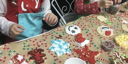 Kids Create Cookies For Santa at The Asbury Park Bazaar