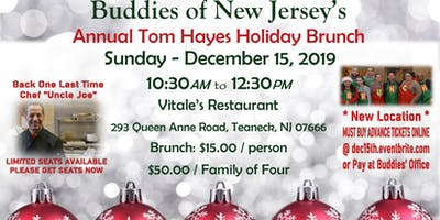 2019 Tom Hayes Holiday Brunch