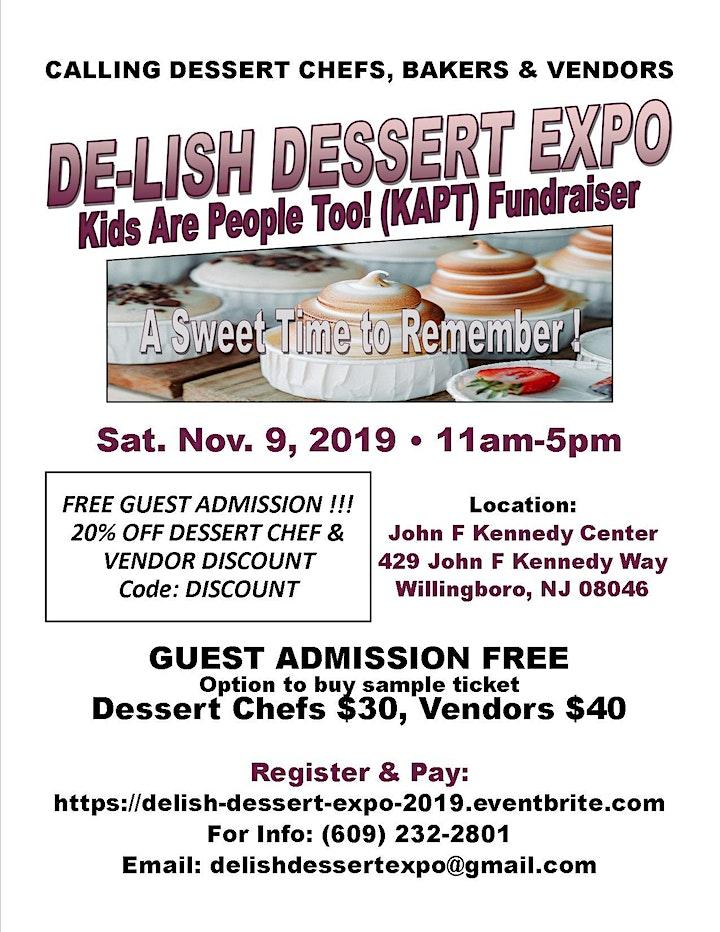 De-Lish Dessert Expo 2019 image