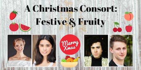 A Christmas Consort: Festive & Fruity tickets