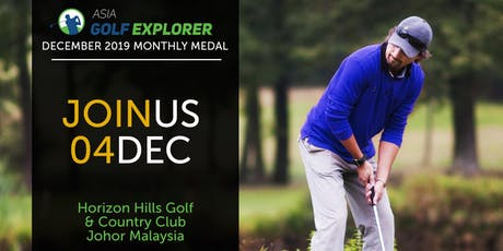 Asia Golf Explorer December 2019 Monthly Medal tickets