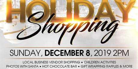 Small Business Holiday Shopping tickets