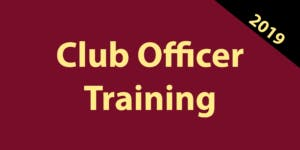 Division F - District 60 Toastmasters, Club Officer Training, Round 2