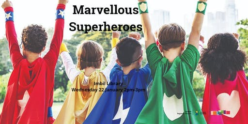 Marvellous Superheroes - Imbil Library