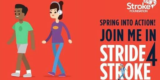Stride for Stroke Walkathon!