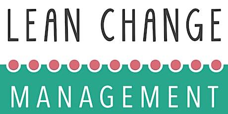 Lean Change Management - (en Français) - Certifié billets