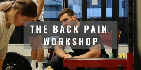 Back Pain Workshop tickets