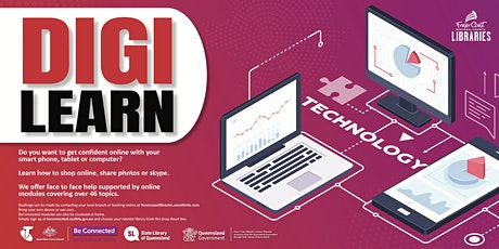 Digi Learn - Maryborough Library tickets