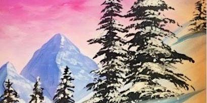 Paint Wine Denver Winter Bliss Mon Dec 16th 6:30pm $30