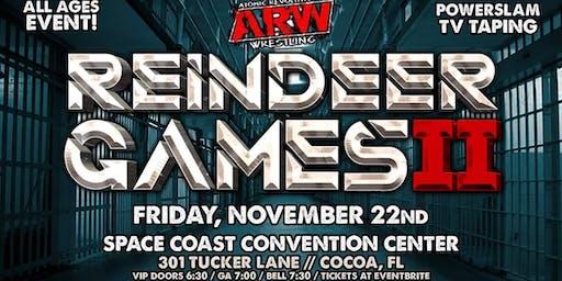 Atomic Revolutionary Wrestling - Reindeer Games 2