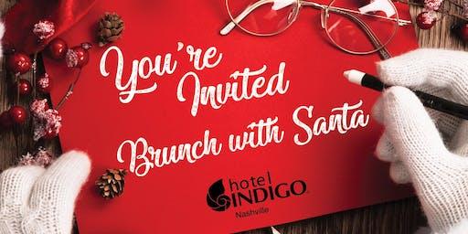 Santa Brunch at the Hotel Indigo