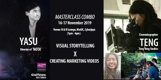 VISUAL STORYTELLING-INTRODUCTION & CREATING MARKETING VIDEOS - 2 DAYS' WORKSHOP