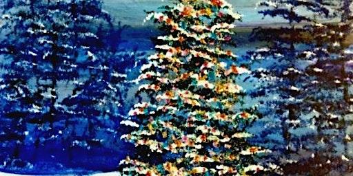 Paint Wine Denver O' Christmas Tree Fri Dec 20th 6:30pm $35