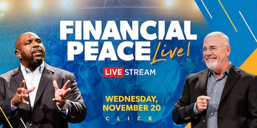 Dave Ramsey Live Streaming Event