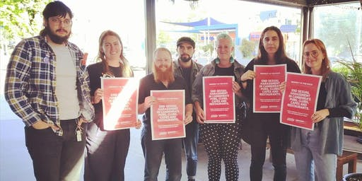 Flyering to end Sexual Harassment in Hospitality