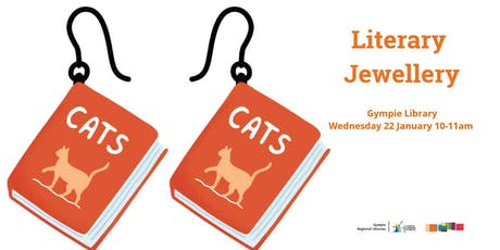 Literary Jewellery - Gympie Library tickets