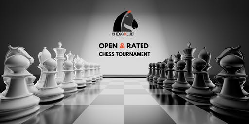 Chess KLUB - Open CHESS TOURNAMENT (USCF Rated)