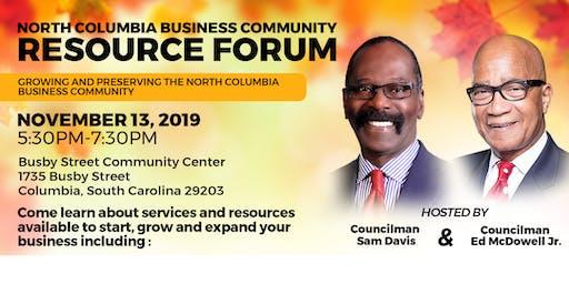 North Columbia Business Community Resource Forum