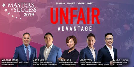 Masters Of Success Conference Penang 2019 tickets